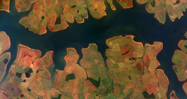 32 eye-opening satellite photos from every country in the World Cup