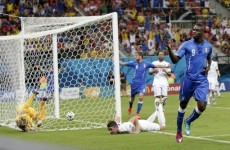 Balotelli proves the game-winner as England suffer in Brazil opener