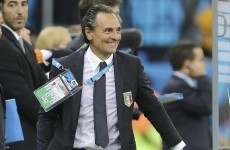 Italy's midfield domination beat England – Prandelli
