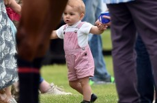 Prince George is walking, time to babyproof the palace!... It's The Dredge