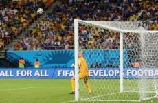 Joe Hart screamed and swore at a ballboy after Pirlo's free-kick