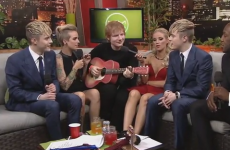 Ed Sheeran and Jedward have a serious bromance going on... it's The Dredge