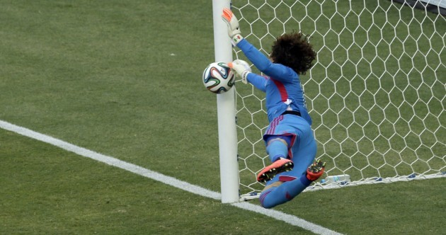 Mexico coach hails keeper Ochoa for 'greatest World Cup performance'