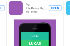 Everyone is talking about this app that only lets you say 'Yo'