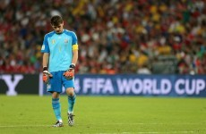 Red hot Chile pressure gets to Spain as holders crash out of the World Cup
