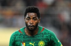 Alex Song Cameroon'd his country's World Cup hopes with this stupid red card