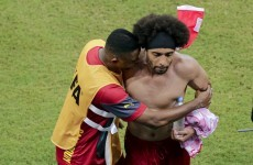 Cameroon's World Cup descends into late night scrap as Assou-Ekotto picks fight with team-mate