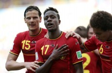 Teenager Origi sees Belgium into World Cup second round