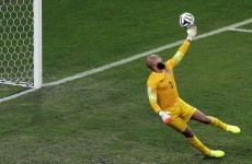 Howard, Ochoa or Romero? Choose your save of the World Cup so far