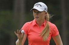 Minutes after her excellent US Open finish, Stephanie Meadow was asked about Rio 2016