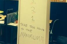 Brilliant Maniac 2000 joke from the 2fm office