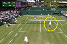 Tennis player smacked in the head by 120kph serve from doubles partner