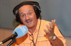 Brendan O'Carroll covers for Marian Finucane, plugs his movie, gives a businessman €30,000