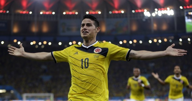 Stop the World Cup lights, James Rodriguez has scored an absolute cracker