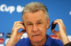 Hitzfeld: Anything is possible against Argentina