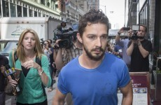 Shia LaBeouf tried to get in a fight outside a strip club... it's The Dredge