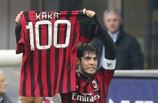 AC Milan confirm Kaka exit with a statement full of hugs and undying love