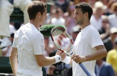 Reigning champion Murray crashes out of Wimbledon