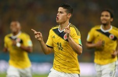 Colombian president announces public holiday for World Cup quarter-final