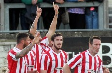 Derry fire four past Welsh opposition as Sligo secure valuable draw