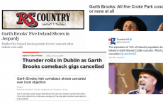 Garth Brooks debacle: The international coverage