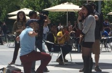 Man proposes at Facebook HQ after falling in love with a stranger he 'poked'