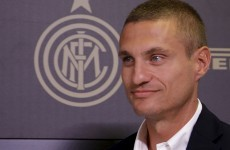 'Honoured' Nemanja Vidic gets to work with new club Inter