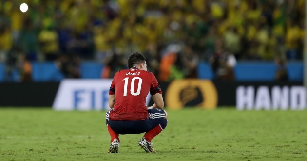'The referee didn't help': Tearful James fires one last volley before leaving