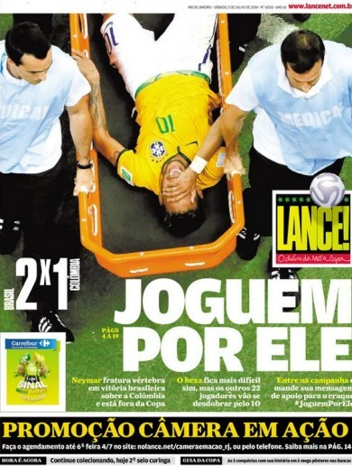'Neymar has been hunted': What they're saying about the injury that has rocked Brazil