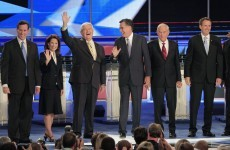Republican hopefuls attack Obama's record in first major debate