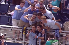 MLS striker scores goal, celebrates with a selfie