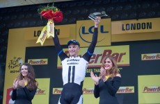 Kittel wins second Tour stage in front of Buckingham Palace