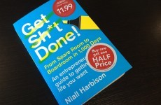 11 factoids from Niall Harbison's book Get Sh*t Done