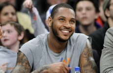 It looks like Carmelo Anthony is going to stay with the New York Knicks