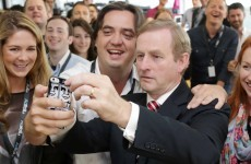 The Taoiseach's been keeping his photography costs down this year