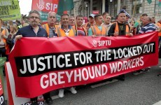"Greyhound ""not interested in disputes"", SIPTU says workers ""effectively on breadline"""