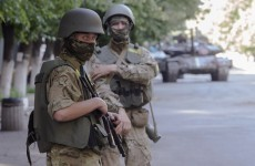 """The rebels will pay..."": Ukraine leader vows action over rocket attacks"