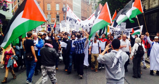 'We want justice' chants at Dublin Gaza rally, as conflict death toll tops 125