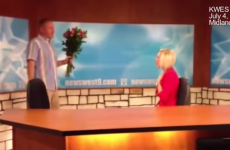 Newsreader tricked into reading out her own marriage proposal on air