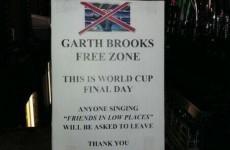 Dublin pub declares itself a 'Garth Brooks free zone'