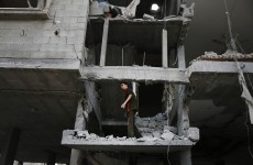 A Palestinian describes what life is like under Israeli bombardment