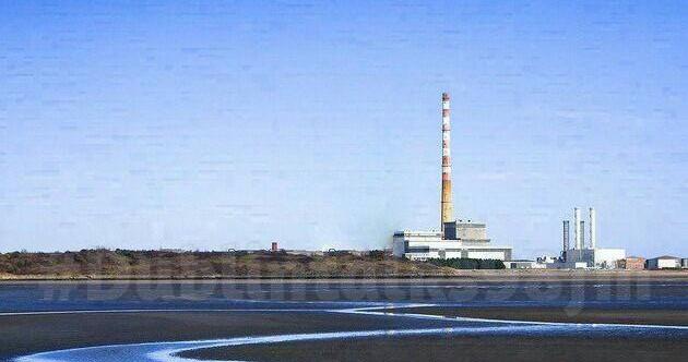 A Dublin radio station trolled Facebook with a fake photo of 'demolished' Poolbeg chimneys