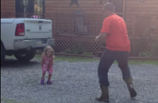 This dad vs daughter dance off is the cutest thing you'll see today