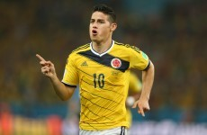 James Rodriguez will join Real Madrid for €80 million, according to Spanish media