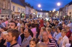 Hundreds march to garda station in Roscrea over drugs fears