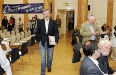 Adams says two Irelands 'does not make sense'