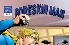 Comic-book hero 'Foreskin Man' criticised as anti-Semitic