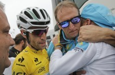 Nibali on the brink after stage 18 win