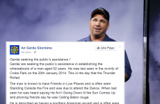 Gardaí write lengthy Facebook post laden with Garth Brooks puns