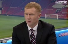 You'll be seeing a lot more of Paul Scholes on your TV screens this season